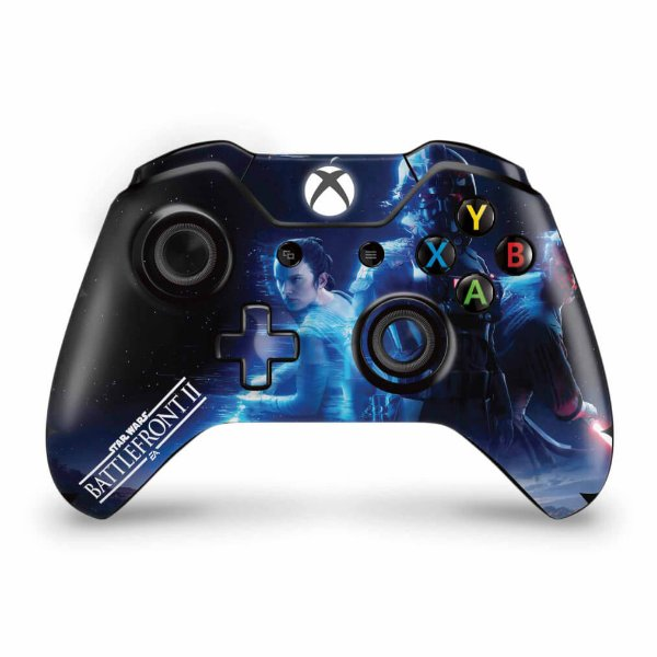 Skin Xbox One Fat Controle - Star Wars - Battlefront 2
