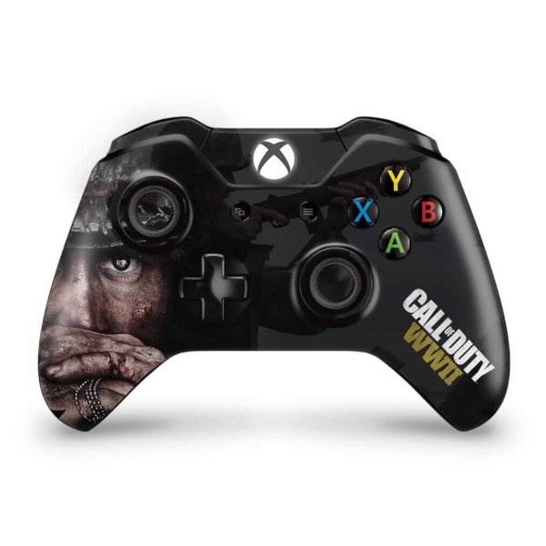 Skin Xbox One Fat Controle - Call of Duty WW2