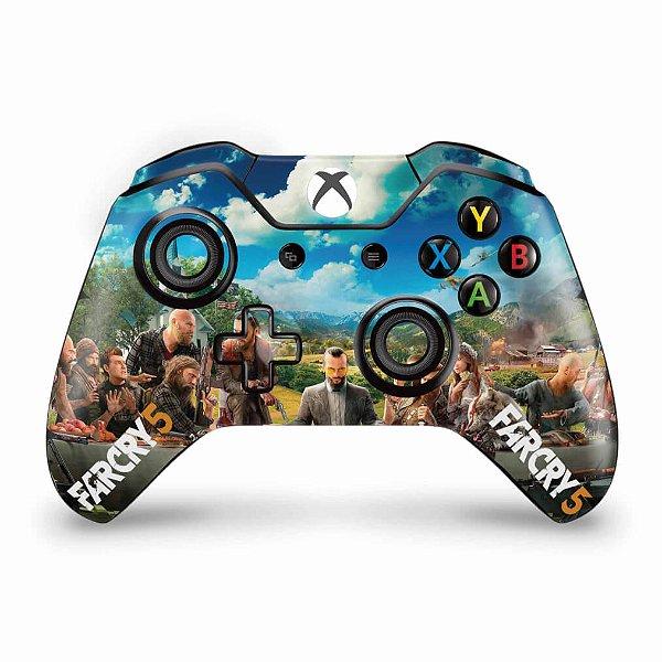 Skin Xbox One Fat Controle - Far Cry 5
