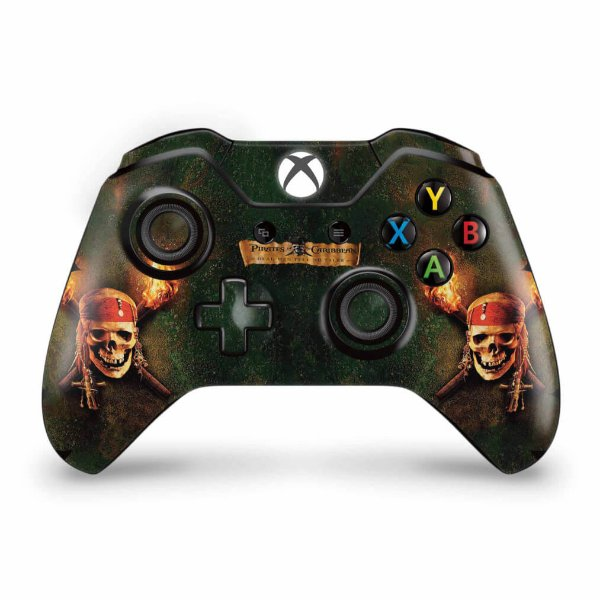 Skin Xbox One Fat Controle - Piratas do Caribe
