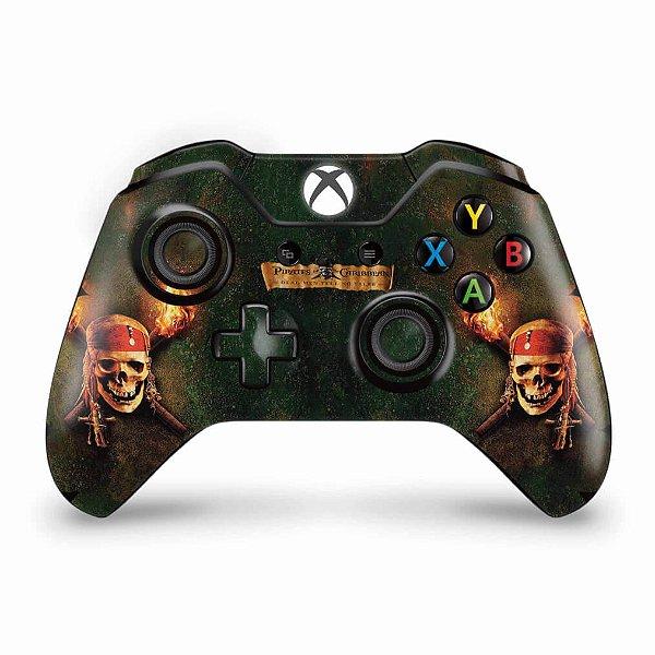 Skin Xbox One Fat Controle - Piratas do Caribe