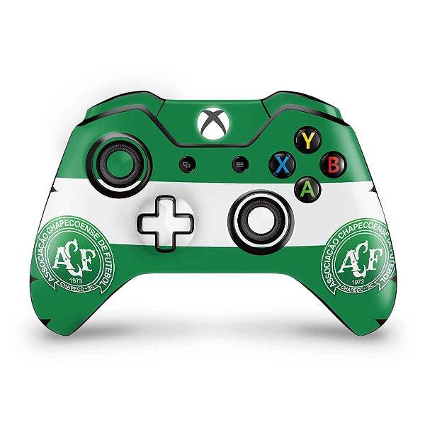 Skin Xbox One Fat Controle - Chapecoense Chape
