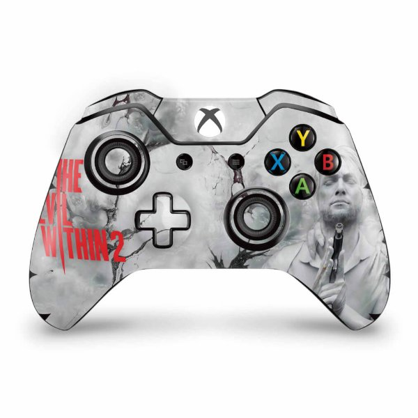 Skin Xbox One Fat Controle - The Evil Within 2