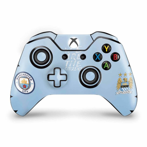 Skin Xbox One Fat Controle - Manchester City FC