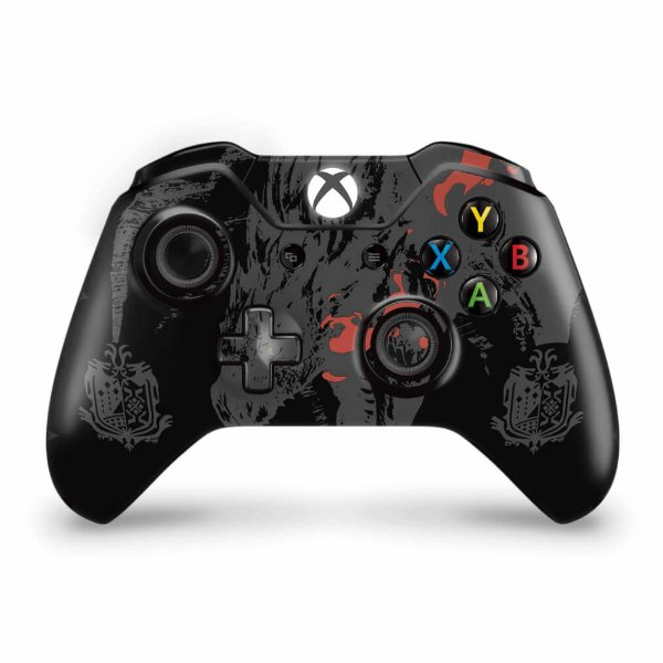 Skin Xbox One Fat Controle - Monster Hunter Edition
