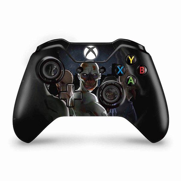 Skin Xbox One Fat Controle - Zombie Zumbi The Walking