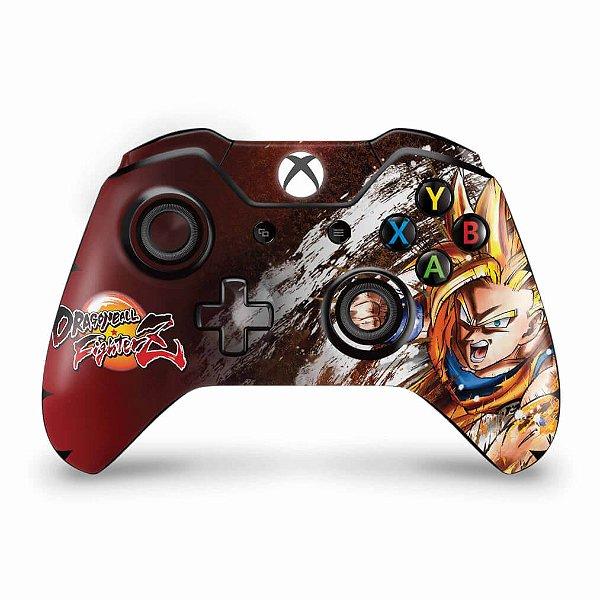 Skin Xbox One Fat Controle - Dragon Ball FighterZ