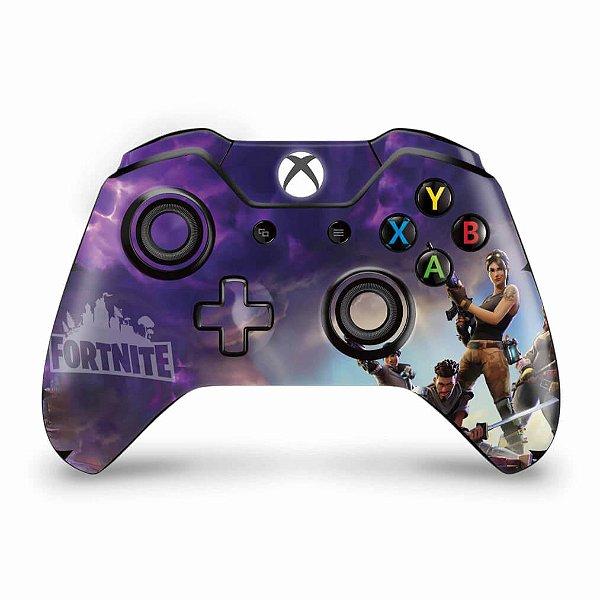 Skin Xbox One Fat Controle - Fortnite Battle Royale