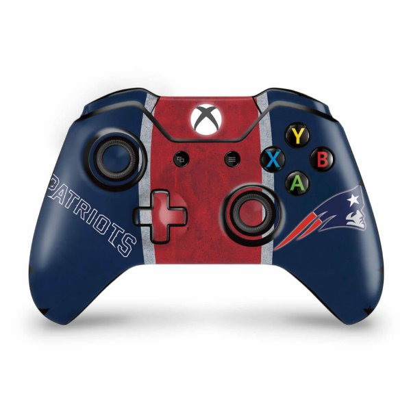 Skin Xbox One Fat Controle - New England Patriots NFL