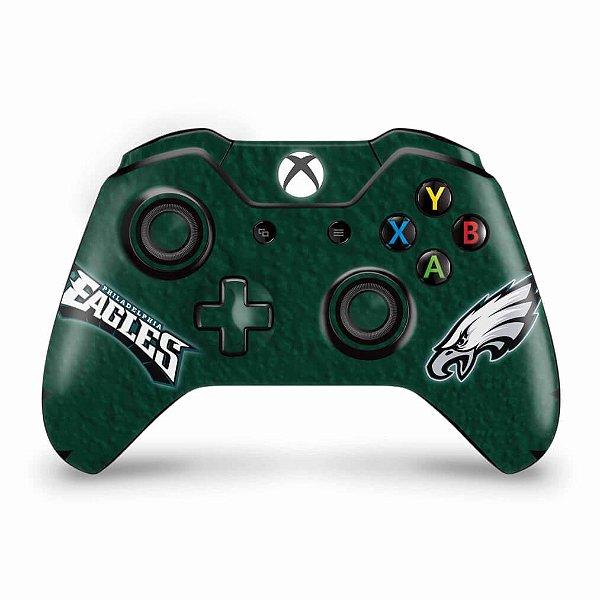 Skin Xbox One Fat Controle - Philadelphia Eagles NFL