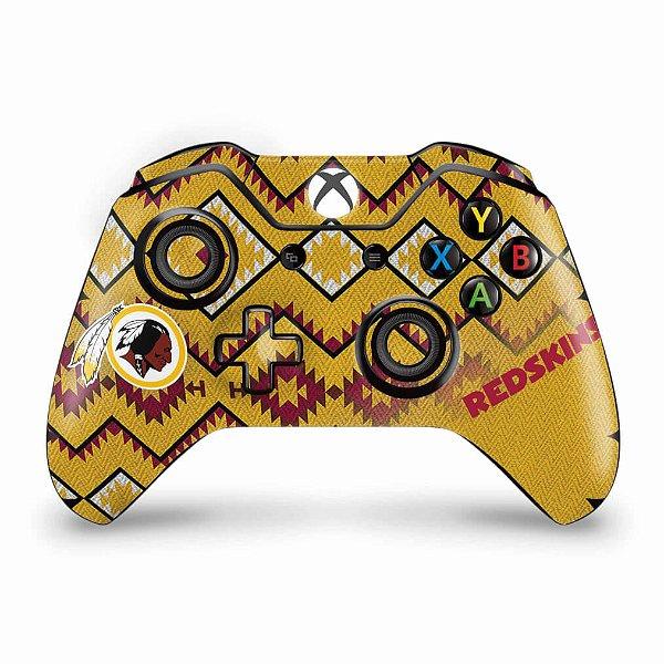 Skin Xbox One Fat Controle - Washington Redskins NFL