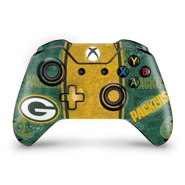 Skin Xbox One Fat Controle - Green Bay Packers NFL