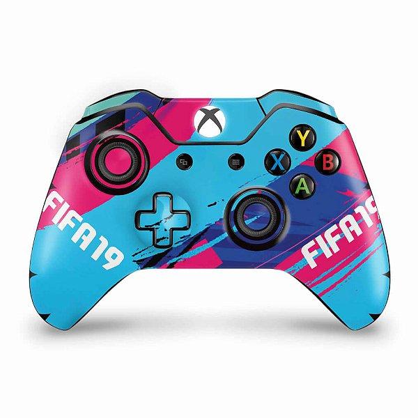 Skin Xbox One Fat Controle - FIFA 19