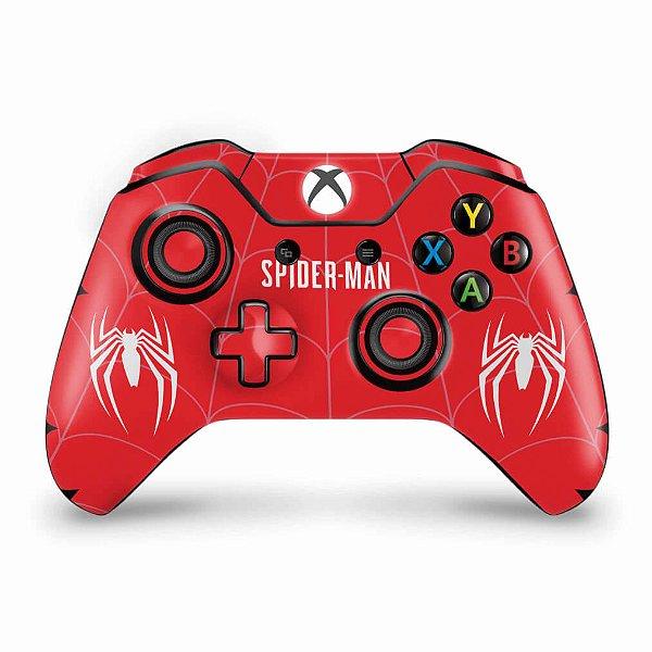Skin Xbox One Fat Controle - Spider-man Bundle