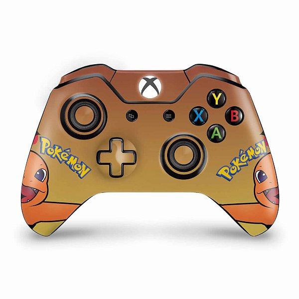 Skin Xbox One Fat Controle - Pokemon Charmander