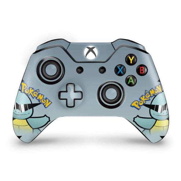 Skin Xbox One Fat Controle - Pokemon Squirtle