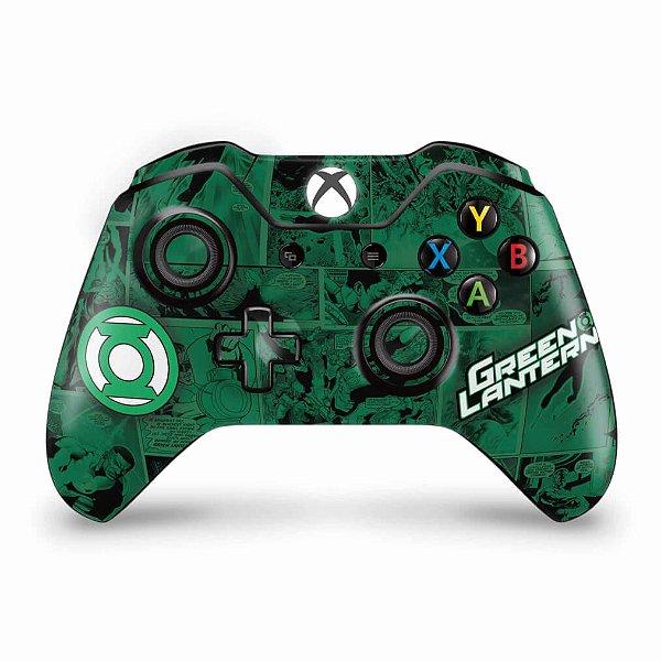 Skin Xbox One Fat Controle - Lanterna Verde Comics