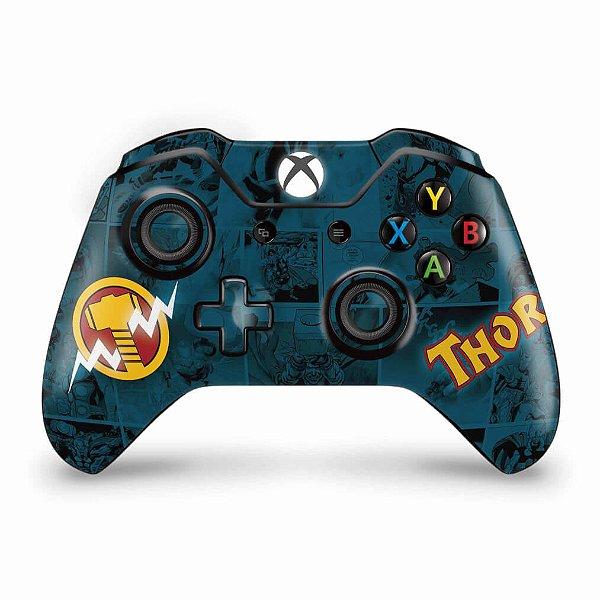 Skin Xbox One Fat Controle - Thor Comics