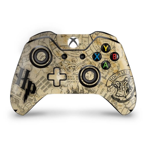 Skin Xbox One Fat Controle - Harry Potter