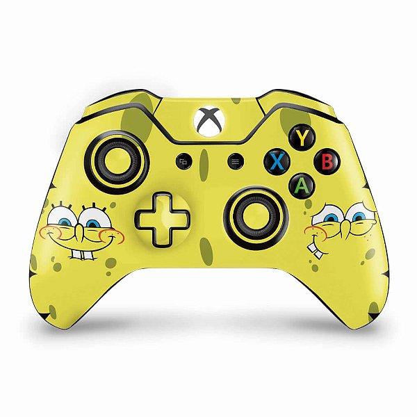 Skin Xbox One Fat Controle - Bob Esponja
