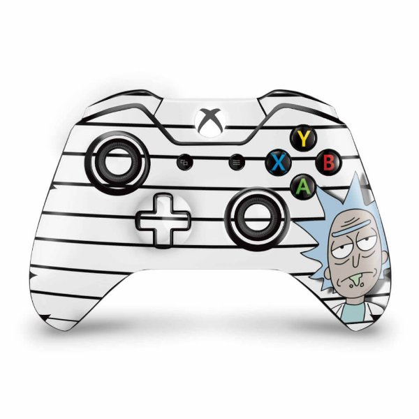 Skin Xbox One Fat Controle - Rick Rick and Morty