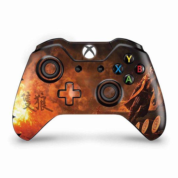 Skin Xbox One Fat Controle - Sekiro