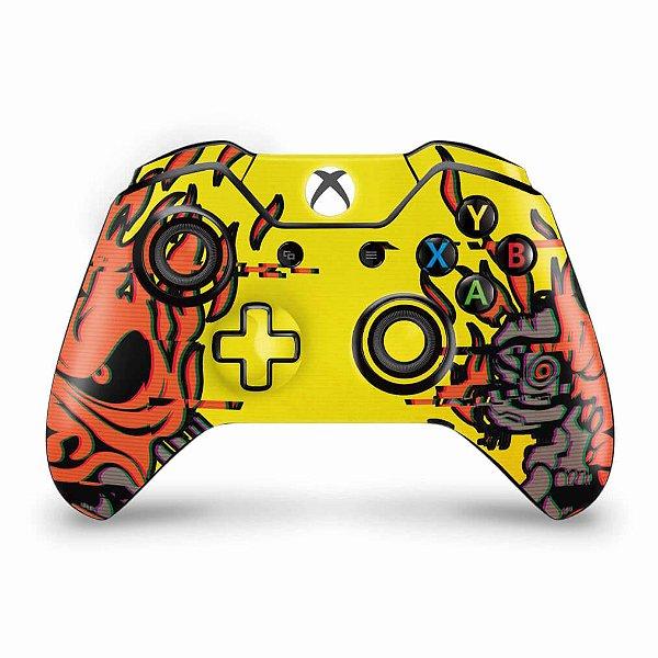 Skin Xbox One Fat Controle - Cyberpunk 2077