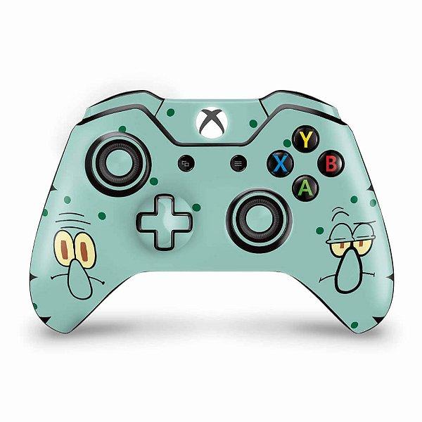 Skin Xbox One Fat Controle - Lula Molusco Bob Esponja