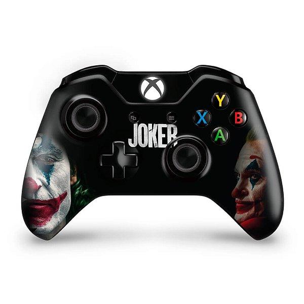 Skin Xbox One Fat Controle - Joker Coringa Filme