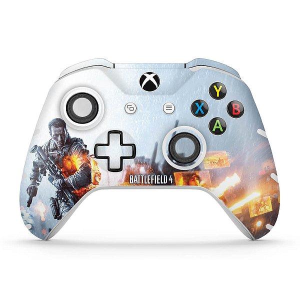 Skin Xbox One Slim X Controle - Battlefield 4
