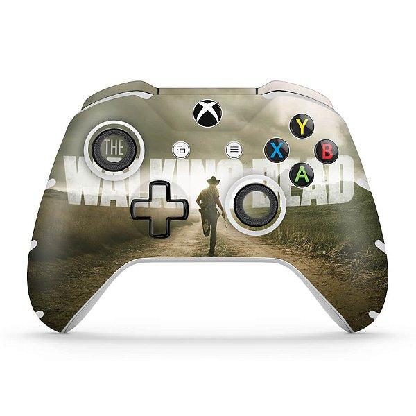 Skin Xbox One Slim X Controle - The Walking Dead