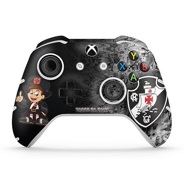 Skin Xbox One Slim X Controle - Vasco