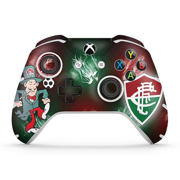 Skin Xbox One Slim X Controle - Fluminense