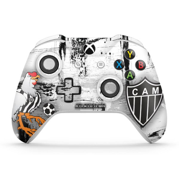 Skin Xbox One Slim X Controle - Atletico Mineiro