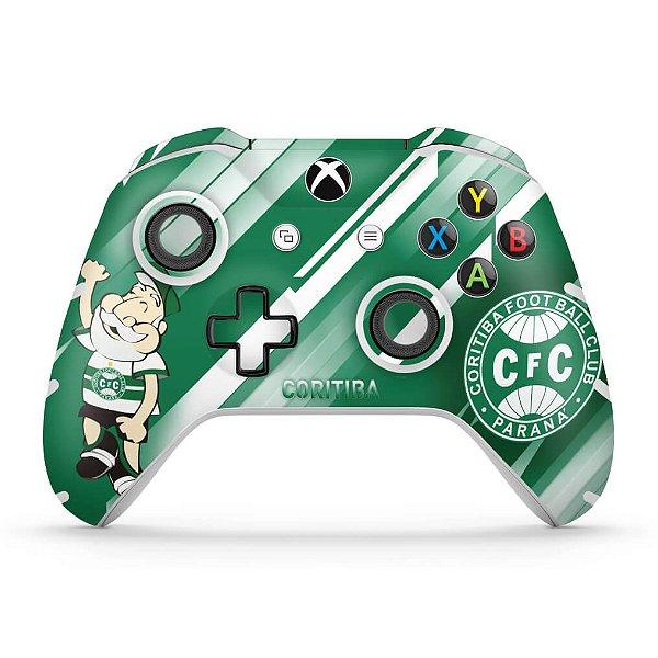 Skin Xbox One Slim X Controle - Coritiba