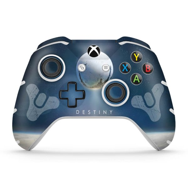 Skin Xbox One Slim X Controle - Destiny