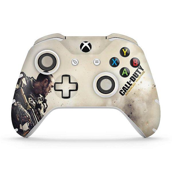 Skin Xbox One Slim X Controle - Call of Duty Advanced Warfare