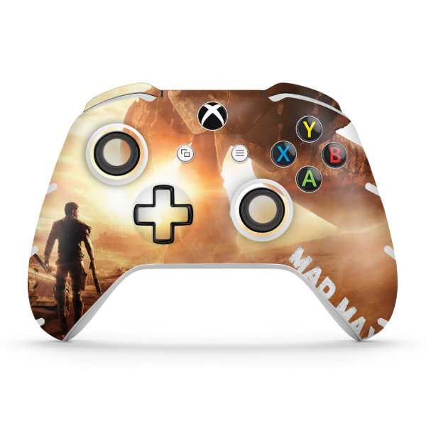 Skin Xbox One Slim X Controle - Mad Max