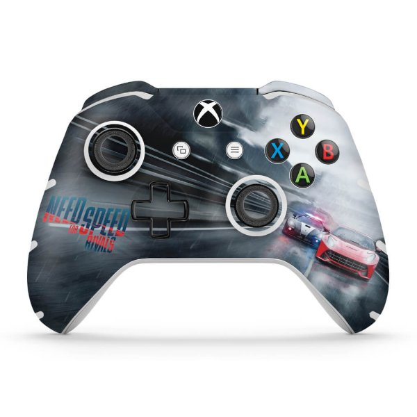 Skin Xbox One Slim X Controle - Need for Speed Rivals