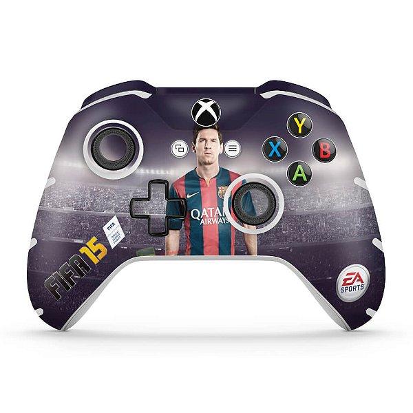 Skin Xbox One Slim X Controle - FIFA 15