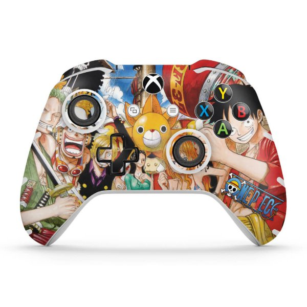 Skin Xbox One Slim X Controle - One Piece