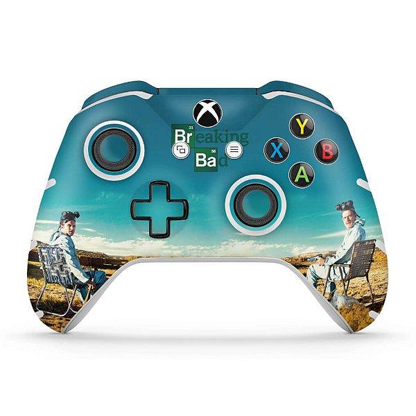 Skin Xbox One Slim X Controle - Breaking Bad