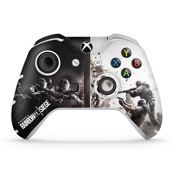 Skin Xbox One Slim X Controle - Tom Clancy's Rainbow Six Siege