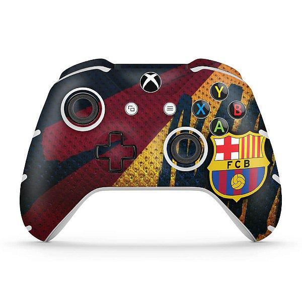 Skin Xbox One Slim X Controle - Barcelona
