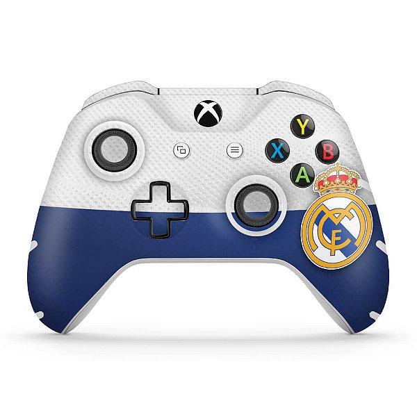 Skin Xbox One Slim X Controle - Real Madrid