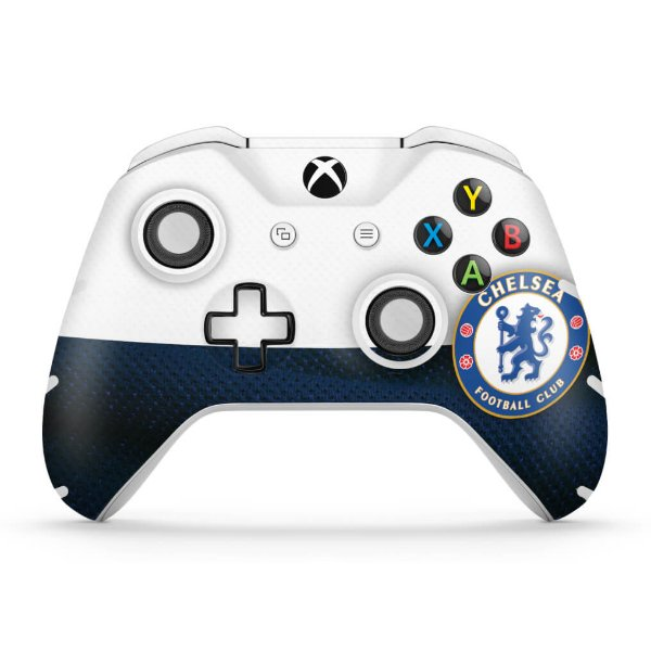 Skin Xbox One Slim X Controle Chelsea Pop Arte Skins
