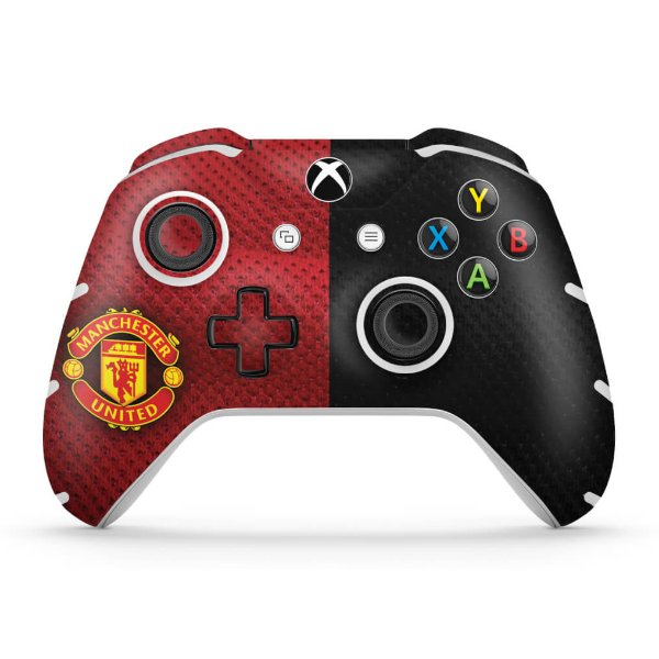 Skin Xbox One Slim X Controle - Manchester United