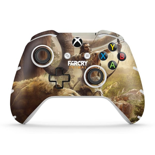 Skin Xbox One Slim X Controle - Far Cry Primal