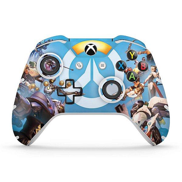 Skin Xbox One Slim X Controle - Overwatch