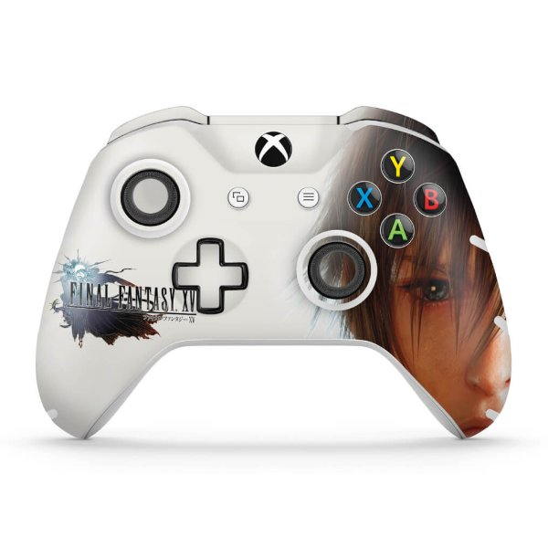 Skin Xbox One Slim X Controle - Final Fantasy XV #B